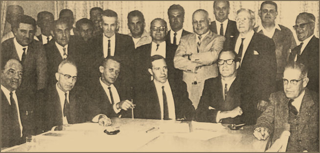 1967 Board of directors, Western Fishboat Owners Association